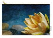 Lotus Blues Carry-all Pouch