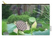 Lotus Flower In Lily Pond Carry-all Pouch