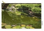 Lotus Garden - Japanese Garden At The Huntington Library. Carry-all Pouch