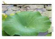 Lotus Leaf Carry-all Pouch