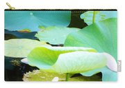 Lotus Lilly Pond Carry-all Pouch