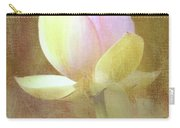 Lotus Looking To Bloom Carry-all Pouch