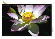 Lotus Of The Night Carry-all Pouch