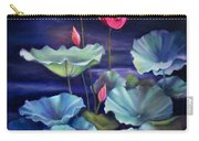 Lotus On Dark Water Carry-all Pouch