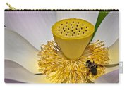 Lotus Pollinator Carry-all Pouch