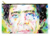 Lou Reed Watercolor Portrait.1 Carry-all Pouch