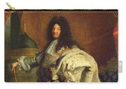 Louis Xiv In Royal Costume, 1701 Oil On Canvas Detail Of 59867 Carry-all Pouch