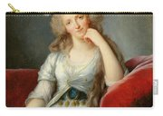 Louise-marie Adelaide, Duchesse Dorleans Oil On Canvas See Also 91622 Carry-all Pouch