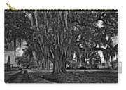 Louisiana Moon Rising Monochrome  Carry-all Pouch