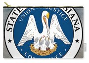 Louisiana State Seal Carry-all Pouch