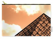 Louvre Pyramid Top Edited Carry-all Pouch