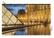 Louvre Reflections Carry-all Pouch by Brian Jannsen