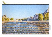 Love Across The Seine Carry-all Pouch
