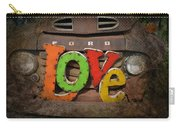 Love And A Ford Truck Carry-all Pouch
