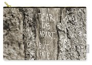 Love And Fate Carry-all Pouch