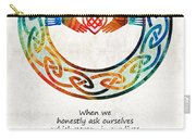 Love And Friendship Art By Sharon Cummings Carry-all Pouch