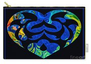 Love And Light Sharing Space Abstract Shapes And Symbols Artwork Carry-all Pouch