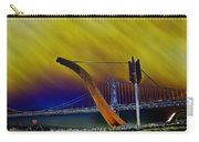 Love At Cupid's Span San Francisco Bay Bridge Carry-all Pouch