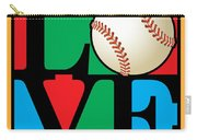 Love Baseball Carry-all Pouch