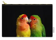 Love Birds At First Sight Carry-all Pouch