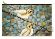 Love Birds- Warm Tone Carry-all Pouch