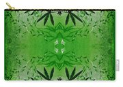 Love Blossom Nature Green Border Carry-all Pouch