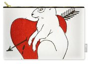 Love Bunny Carry-all Pouch