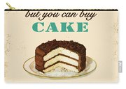 Love Cake Typography Carry-all Pouch