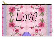 Love Cherry Blossom Carry-all Pouch