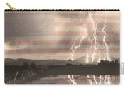 Love For Country Carry-all Pouch by James BO  Insogna