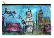 Love For London Carry-all Pouch