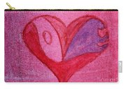 Love Heart 2 Carry-all Pouch