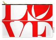 Love In Red Carry-all Pouch