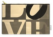 Love In Sepia Carry-all Pouch