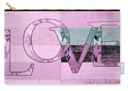 Love - J249115131t-grape Carry-all Pouch