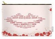 Love Kiss Digital Art Carry-all Pouch