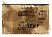 Love Leaves Carry-all Pouch