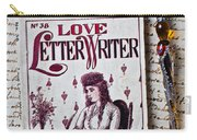 Love Letter Writer Book Carry-all Pouch