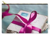 Love Letters Tied With Ribbon Carry-all Pouch