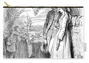 Love Lyrics And Valentine Verses, 1875 Carry-all Pouch