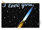Love Message Digital Painting Carry-all Pouch
