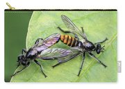 Love On A Leaf Carry-all Pouch