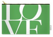Love On Green Carry-all Pouch