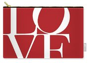Love On Red Carry-all Pouch
