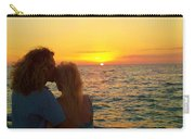 Love On The Beach Carry-all Pouch