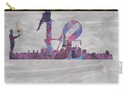 Love Over Paris Carry-all Pouch