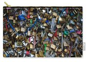 Love Padlocks On Pont Des Art Carry-all Pouch
