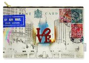 Love Park Post Card Carry-all Pouch