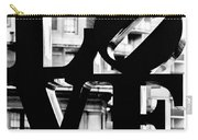 Love Philadelphia Black And White  Carry-all Pouch