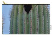 Love Shack Saguaro With A Heart Carry-all Pouch